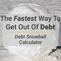 Financial Debt Decrease Calculator