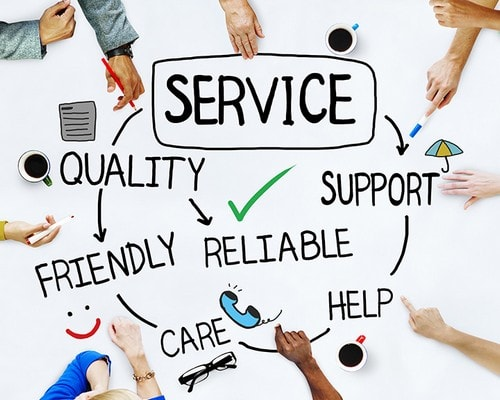 ALL ABOUT GOOD CUSTOMER SERVICE